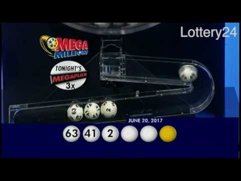 2017 06 20 Mega Millions Numbers and draw results
