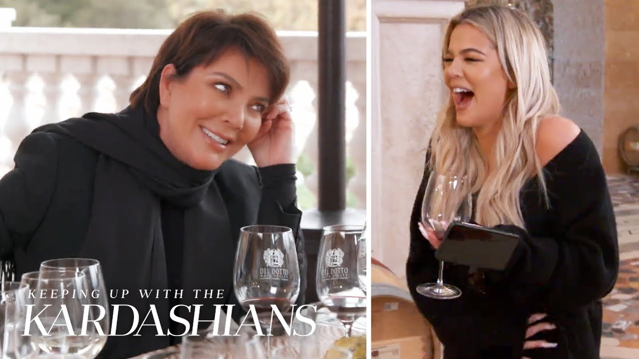 Kris Jenner Gets Tipsy at the Winery--Again | KUWTK | E!