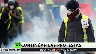 Quinta semana de disturbios en Francia