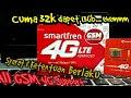 TIPS Menggunakan Kouta Smartfren 4G LTE di Smartphone NON-ANDROMAX || 13GB cuma 30ribuan