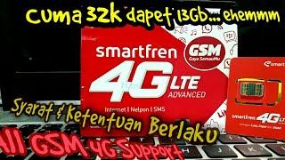 TIPS_Menggunakan Kouta Smartfren 4G LTE di Smartphone NON-ANDROMAX || 13GB cuma 30ribuan