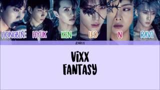 VIXX - Fantasy [Han/Rom/Eng] Picture + Color Coded Lyrics