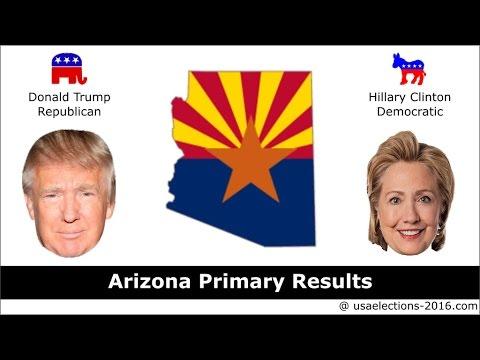 Arizona Primary Result 2016 : US Election 2016