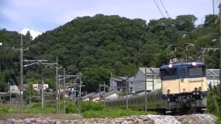 甲種回送 南武線配給  E233系8000番代 2015.08.18 <敷島-渋川>