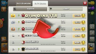 TÜRKİYE 1. Sİ OLUCAZ KLANA GEL !! - CLASH OF CLANS