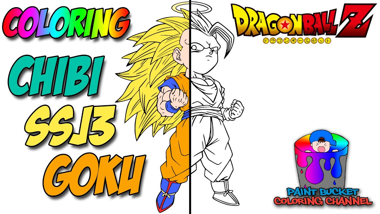 super saiyan 3 goku dragon ball z super speedpaint youtube