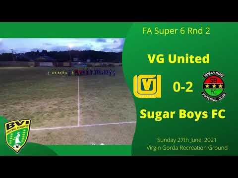FA Super 6 Round 2, VG United 0-2 Sugar Boys FC, VG Recreation Ground, Sunday 20th June, 2021