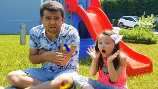 The Boo Boo Story Öykü and Dad - fun kid videos