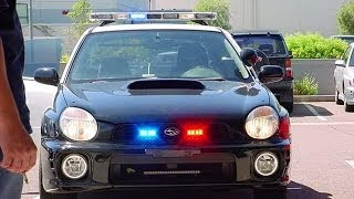 Cop Pulled Me Over The Other Day.(Subaru STI 07)