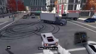 Drift in Watch Dogs By 5 Car