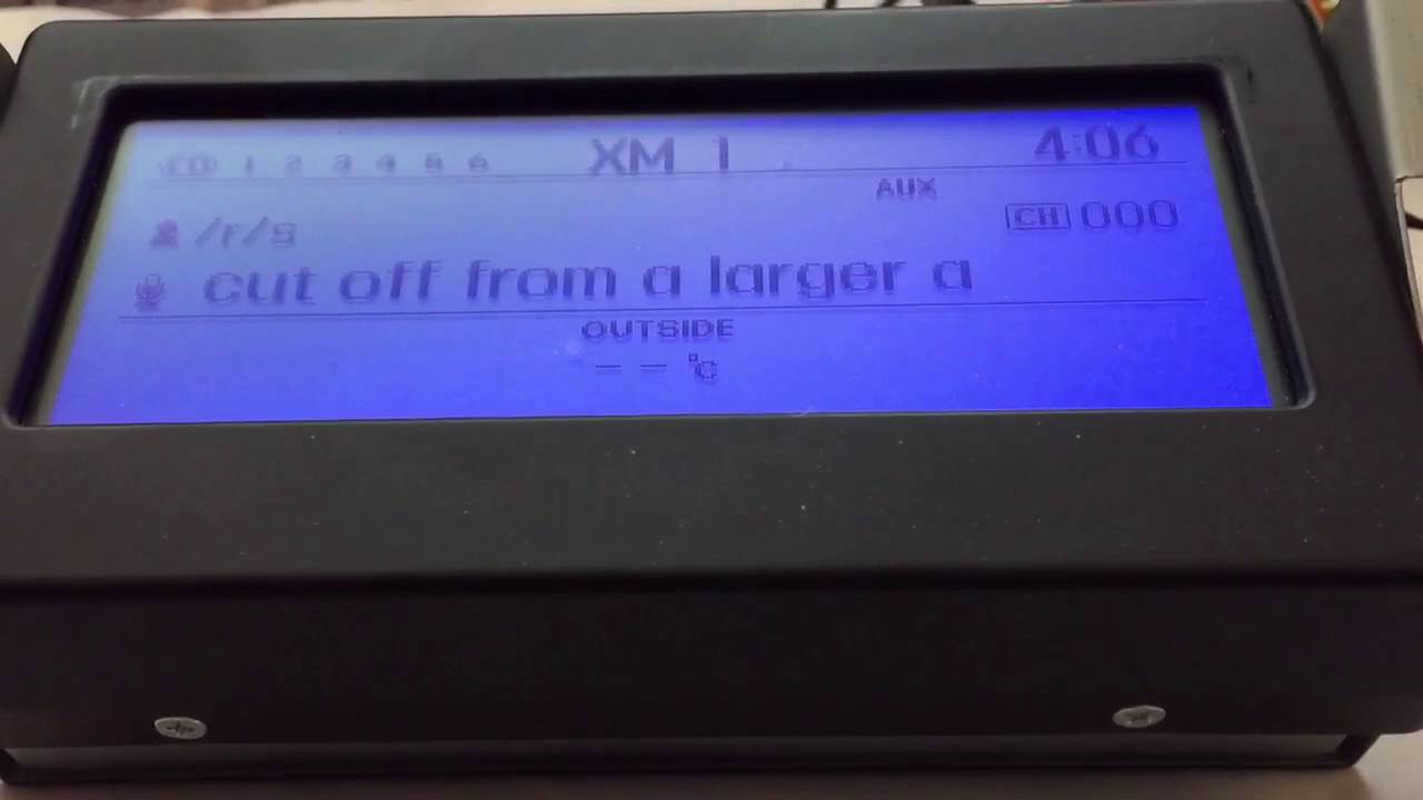 Hacking a Car's LCD Screen to Quote Reddit - The New Stack