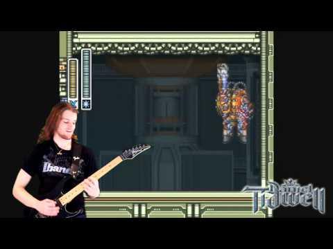 Spark Mandrill's Stage on guitar (Mega Man X)