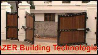 Remote Control Gate(came, Trazer Building Technologies) In Kerala.avi
