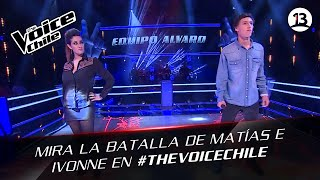 The Voice Chile | Matías e Ivonne - Rock and Roll All Night