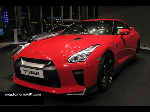 Nissan Gt R 2017 Model Year Red