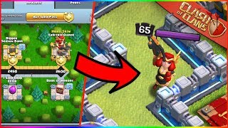 MAX July Gold Season Pass 4 W/ Valkyrie Archer Queen Skin IN GAME | Clash of Clans
