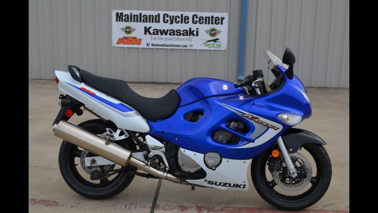 3 399  2006 Suzuki Katana 600 Blue And White For Sale