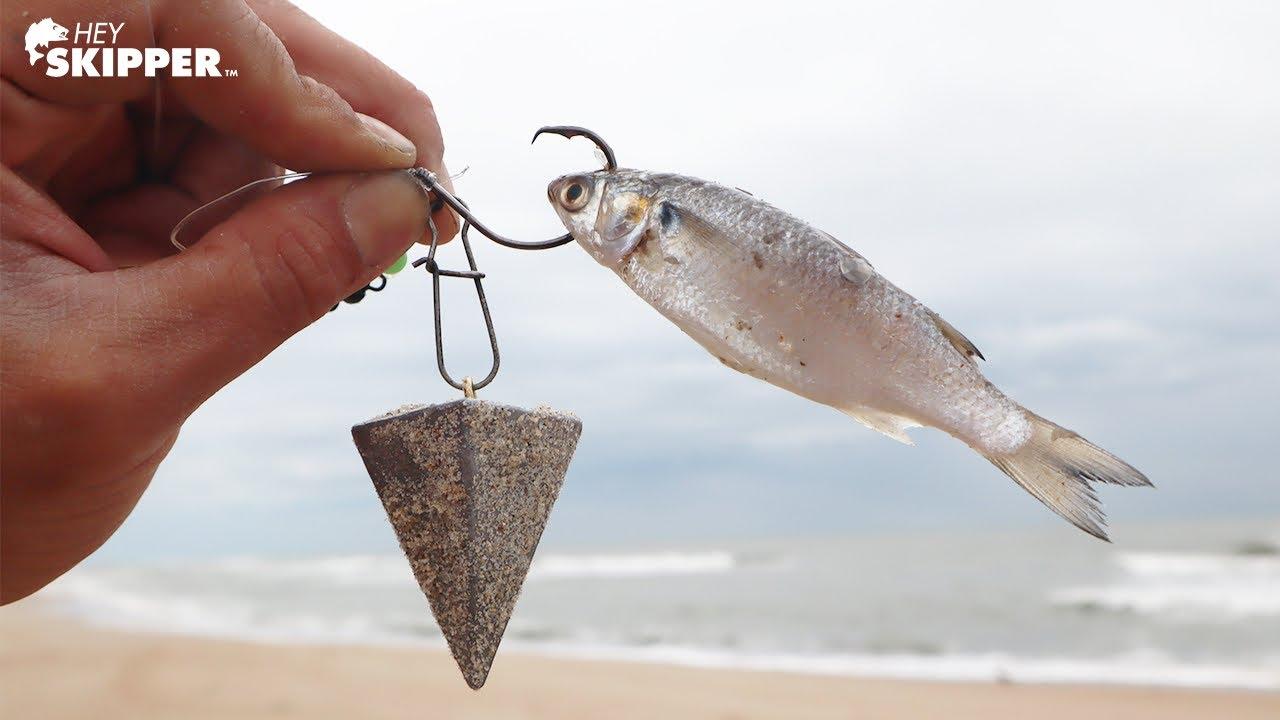 Umpan kecil menangkap IKAN BESAR! Umpan terbaik untuk memancing di Pantai!