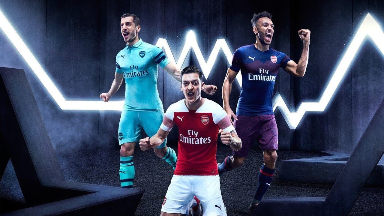 bb188c114 Arsenal Release Away Kit   Third Kit For The 2018 19 Season - YouTube