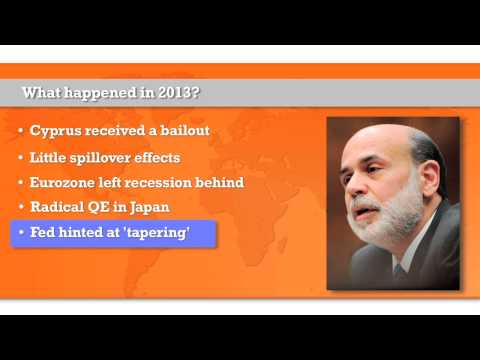The five most important economic developments of 2013 - Economic update video December 2013