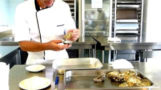 Cours de cuisine : Huîtres à la Plancha