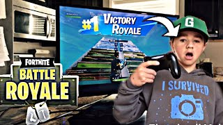 *GETTING A WIN IN THE KITCHEN* (Fortnite)