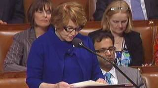 Rep. Louise Slaughter Opens Debate on Health Care Reform