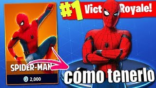 GET SPIDER-MAN FREE IN FORTNITE (George)