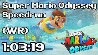 Super Mario Odyssey Any% Speedrun in 1:03:19 (Former World Record - April 3rd / 2018)