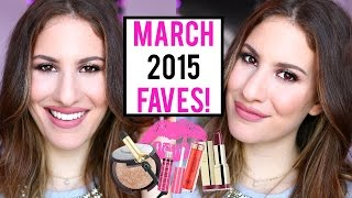 MARCH 2015 BEAUTY FAVORITES ♡ Anastasia Beverly Hills, NYX, Makeup Geek and More! | JamiePaigeBeauty
