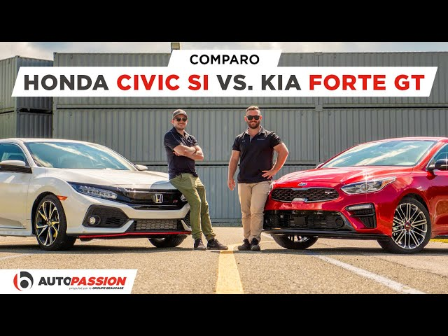 2020 Kia Forte GT VS Honda Civic Si - Essai AutoPassion - Toute une surprise !