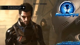 Deus Ex Mankind Divided - Singh No Swan Song Trophy / Achievement Guide (Mission 1)