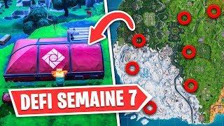 VISITER TOUS LES AVANT-POSTES D'EXPÉDITION ! (DÉFI SEMAINE 7 FORTNITE)