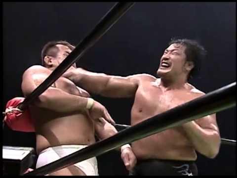 NOAH 10.07.04 - Kenta Kobashi vs. Jun Akiyama (Mauro Ranallo commentary) -  YouTube