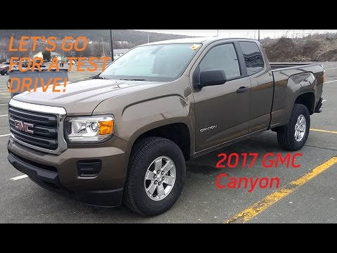 2017 GMC Canyon Base 4x2 V6 8AT   Test Drive, Tour, and Review