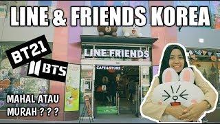BELANJA DI LINE & FRIENDS BT21 BTS | ITAEWON KOREA