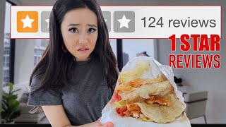 Trying The WORST Reviewed Restaurant In My City LA