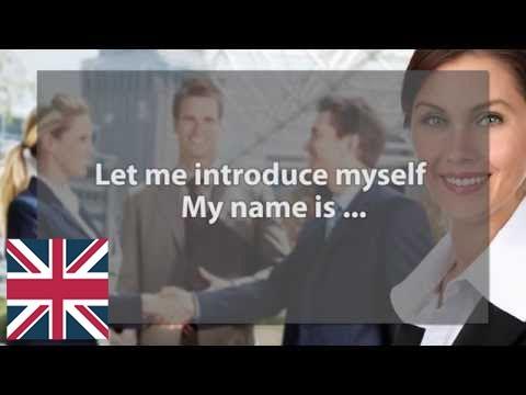 знакомство для практики английского языка