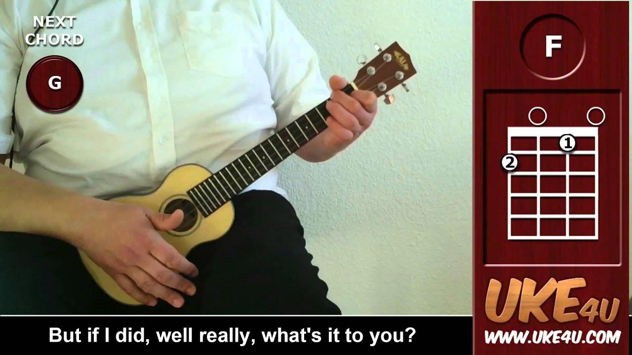 Hallelujah leonard cohen ukulele playalong youtube hexwebz Choice Image