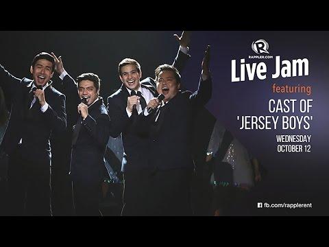 Rappler Live Jam: Cast of 'Jersey Boys'