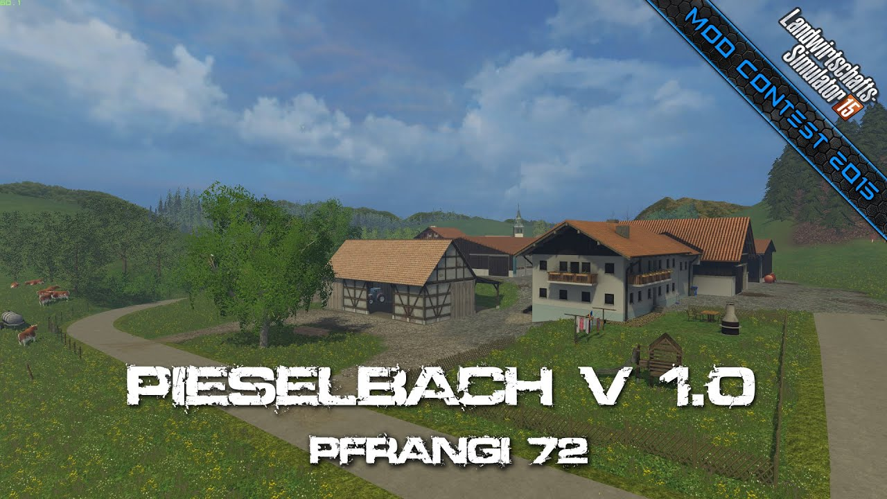 Mod Contest Pieselbach V Pfrangi YouTube - Southern norway map ls15