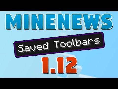 MineNews 1.12 - Hotbar / Toolbar saving
