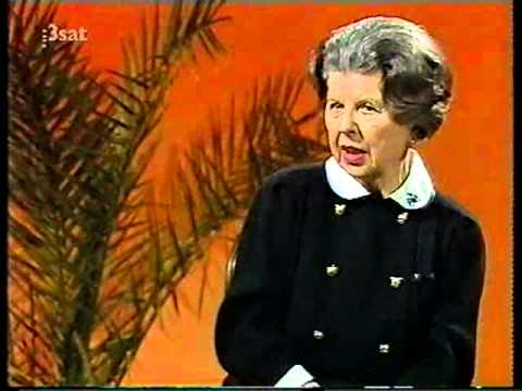 Maria Stader - Da Capo - Interview with August Everding 1987