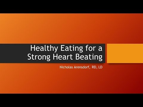 JCHC - Healthy Eating for A Strong Heart Beating 2-15-18