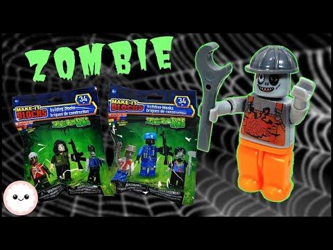 Zombie Characters - Dollar Tree Building Blocks