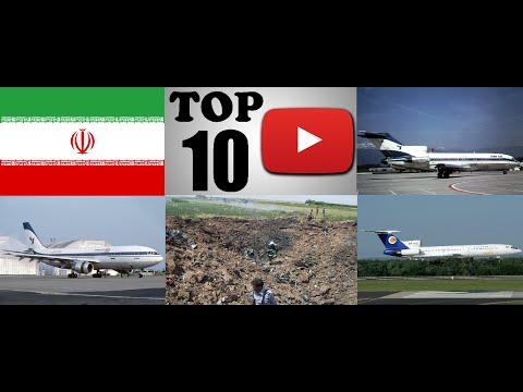 Top Ten Deadliest Air Crashes of Iran
