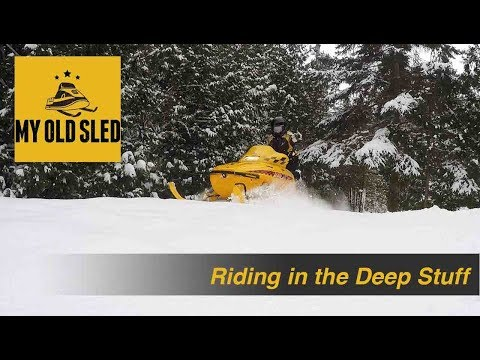 Seven Tips For Riding Your Sled In Deep Snow
