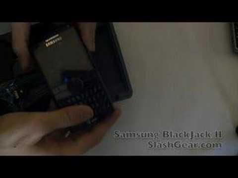 Samsung BlackJack II for AT&T