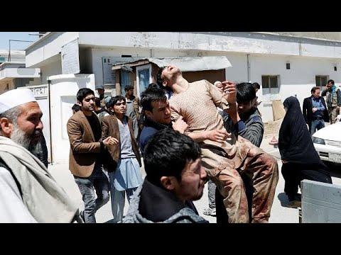 euronews (deutsch): Kabul: Mehr als 50 Tote bei Selbstmordanschlag