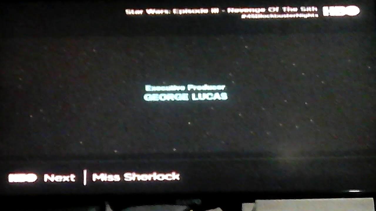 Star Wars Episode Iii Revenge Of The Sith Ending Credits 2005 Youtube